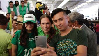 Mariana Boy encabeza inicio de campaña de aspirantes del PVEM a alcaldes