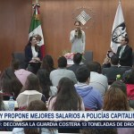 Mariana Boy Mejorará Salarios Policías Cdmx