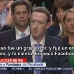 Mark Zuckerberg comparece ante Senado de Estados Unidos