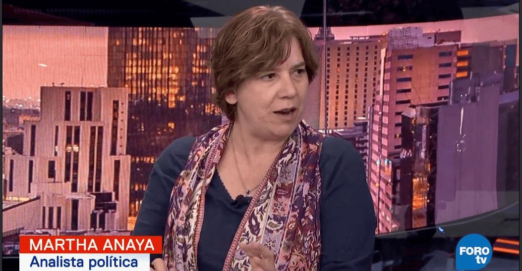 Martha Anaya habla del debate presidencial (FOROtv)