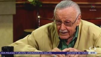 Masajista demanda a Stan Lee por agresión sexual