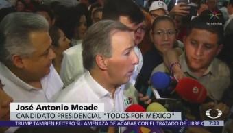 Meade admite que no ha presentado su declaración 3de3