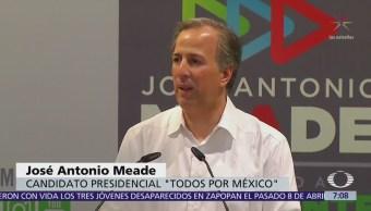 Meade dice que número de debates organizados por el INE es insuficiente