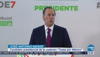 Meade difunde su declaración patrimonial, la llama '7 de 7'