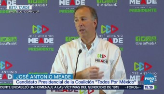 Meade Pide López Obrador Honre Palabra