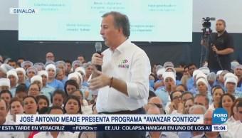 Meade presenta programa 'Avanzar Contigo'