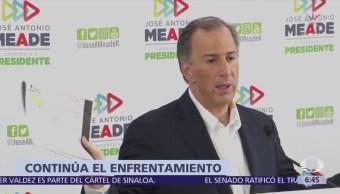 Meade reitera polémica sobre departamentos de López Obrador