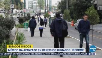 México Avanza Materia Derechos Humanos Estados Unidos