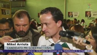 Mikel Arriola propone pensión para amas de casa