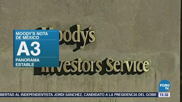 Moody's mejora la perspectiva de la calificación crediticia de México