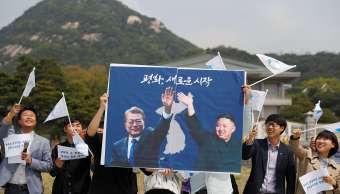 Moon y Kim se reunirán viernes zona desmilitarizada