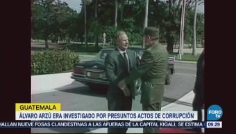 Muere Expresidente Giatemalteco Álvaro Arzú