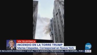 Muere una persona por incendio en la Torre de Trump