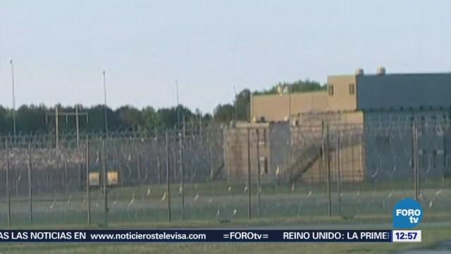Mueren siete presos durante enfrentamientos en una cárcel de Carolina del Sur