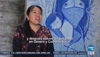 Mujeres Estelares: Zenaida Pérez Sierra Mixe de Oaxaca
