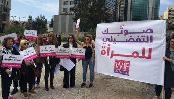 mujeres libano elecciones generales women front