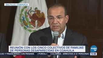 Navarrete Prida Sostiene Reunión Colectivos Familias Personas Desaparecidas