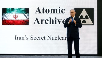 Netanyahu acusa Irán de buscar construir armas nucleares