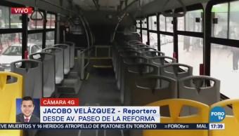 Nuevos Camiones Recorrerán Tramo Reforma Santa Fe