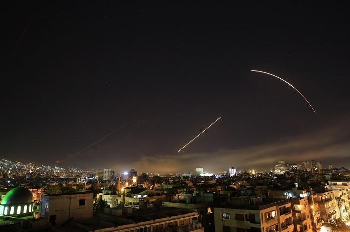 Ofensiva estadounidense ataca tres instalaciones químicas Siria