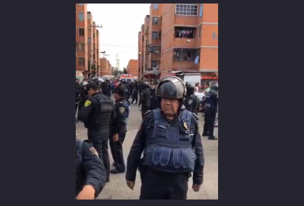 Hombre mata a su asaltante en Iztapalapa