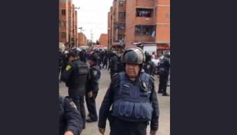 Víctima de asalto mata a su agresor y tratan lincharlo en Iztapalapa