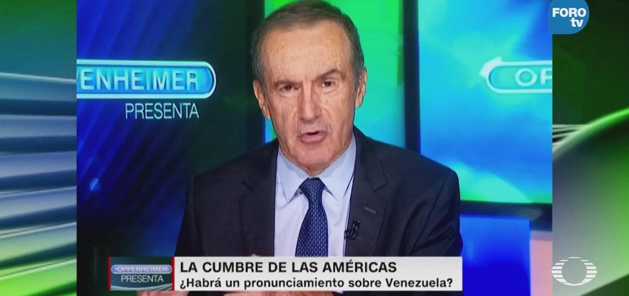 Andres Oppenheimer Presenta Cumbre Américas Lima Perú