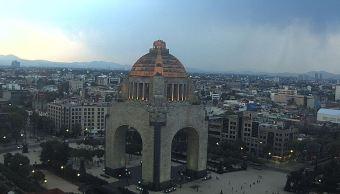 Pronostican tarde con lluvias y caída de granizo en la Ciudad de México