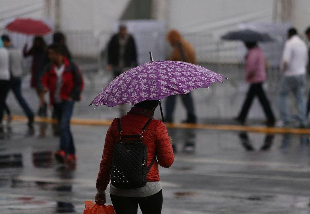 Por lluvia y granizo activan alerta amarilla en nueve delegaciones
