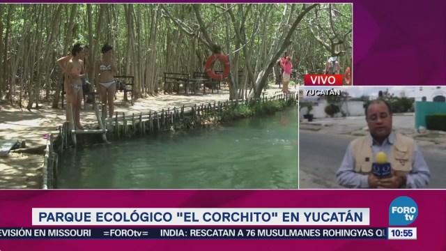 Parque Ecológico El Corchito Yucatán Sitios Turísticos