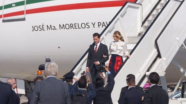 Peña Nieto arriba a Hannover para inaugurar Feria Tecnológica