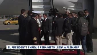 Enrique Peña Nieto Llega Alemania Viktor Elbling