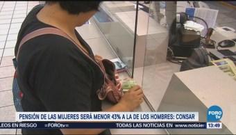 Pensiones Mujeres México Serán Menores Hombres