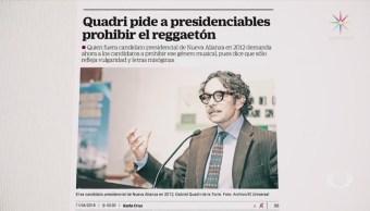 Gabriel Quadri Candidatos Contra Reggaetón Vulgaridad