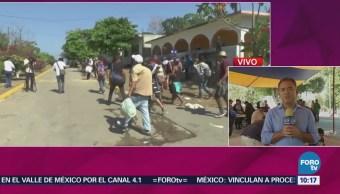 Permanece Varada Caravana Migrante Puebla
