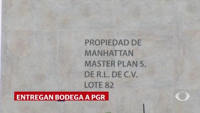 PGR Recibe Nave Industrial Manuel Barreiro