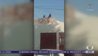 Policía capitalino evita suicidio de mujer en la delegación Álvaro Obregón