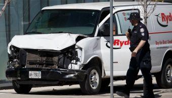 Policía confirma 9 muertos y 16 heridos atropellamiento Toronto