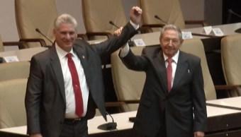 EPN felicita a Miguel Díaz Canel por su elección como presidente de Cuba