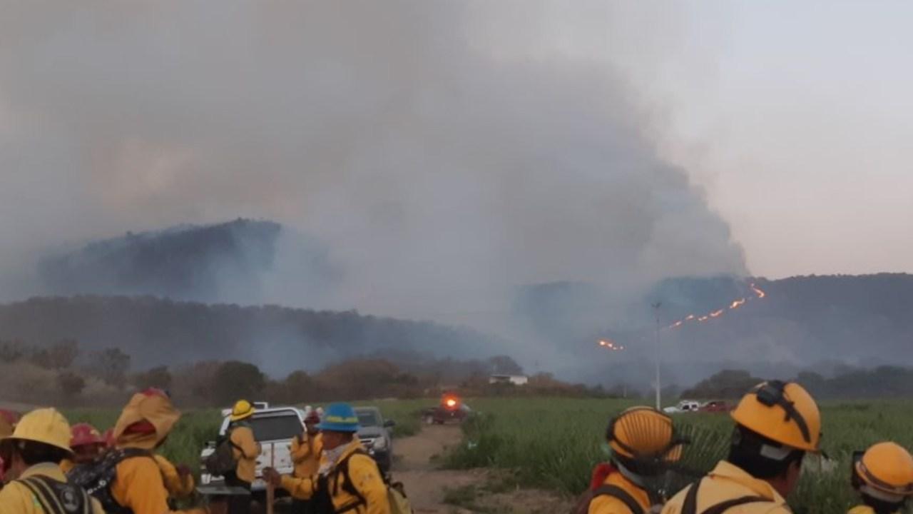 Incendio del bosque La Primavera en Jalisco, el más grande de los últimos años