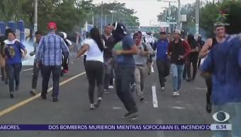 Protestan en Nicaragua por reformas a la seguridad social