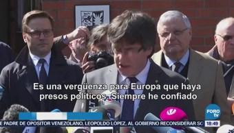 Puigdemont Pide Libertad Para Presos Políticos