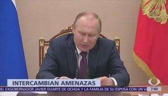 Putin confía en sentido común de relaciones internacionales por crisis siria