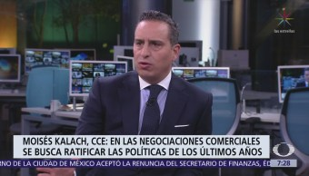 ¿Qué falta para lograr acuerdo del TLCAN?, Moisés Kalach responde en Despierta