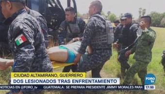Enfrentamiento Deja Dos Lesionados Guerrero