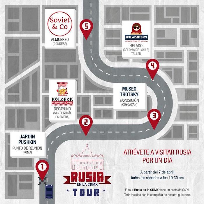 Tour Rusia en CDMX