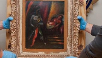 Recuperan cuadro Marc Chagall robado Estados Unidos hace tres décadas