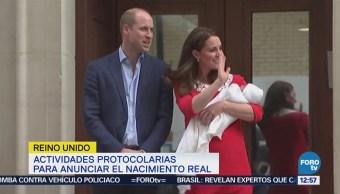 Reino Unido celebra el nacimiento del nuevo bebé real