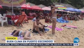 Reportan Buen Clima Puerto Escondido Oaxaca