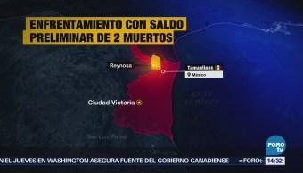 Reportan Enfrentamiento Armado Reynosa, Tamaulipas